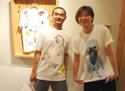 5)幽体離脱&はしびろこうシャツ