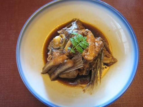 11)鯛のあら炊き