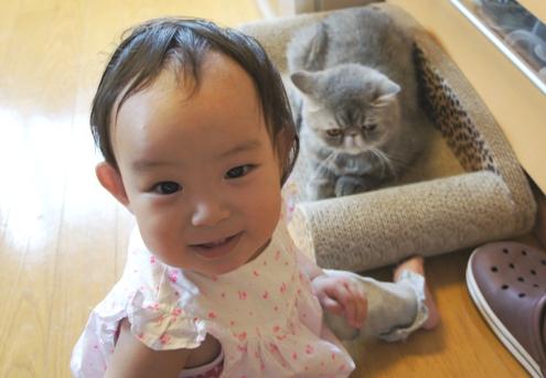 18.1)tumyちゃんちゃんの笑顔