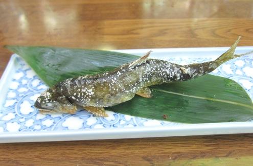11)鮎の塩焼き