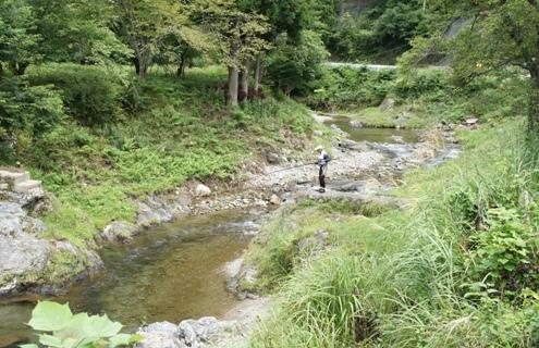 3.5)鮎釣り
