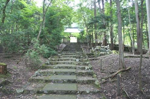 8)常照皇寺階段