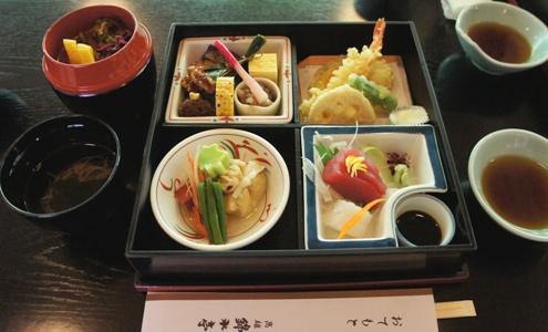 14.5)錦水亭のお弁当