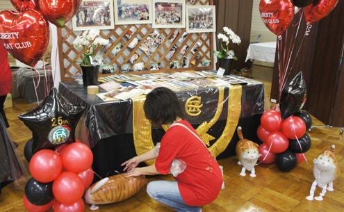 4.6)リバティ25周年記念のショー