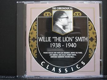 WILLIE THE LION SMITH  1938 1940