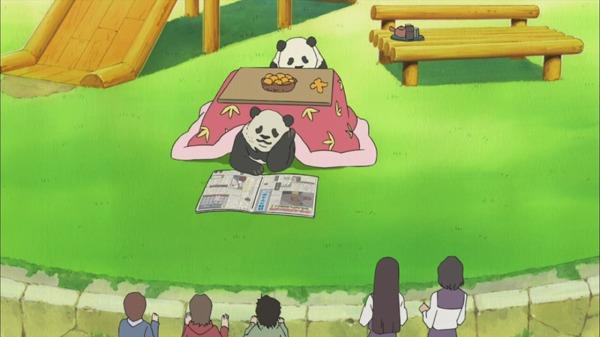 こたつパンダ