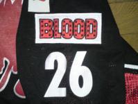 携帯カバーエッチング BLOOD