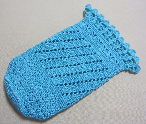 ペットボトルカバー 模様編み