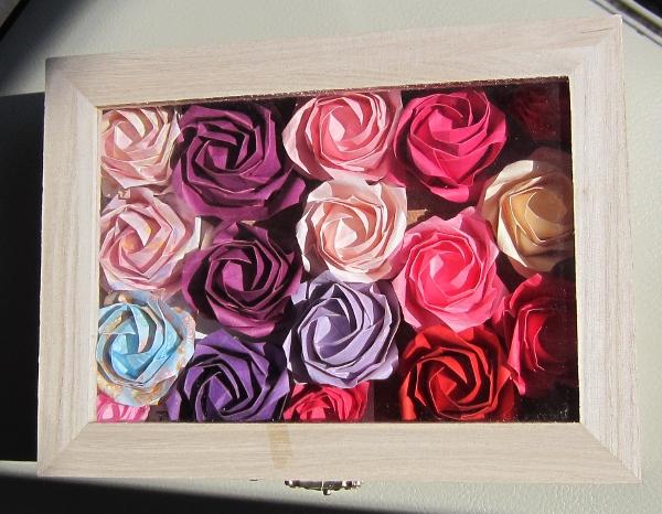 薔薇 箱詰め