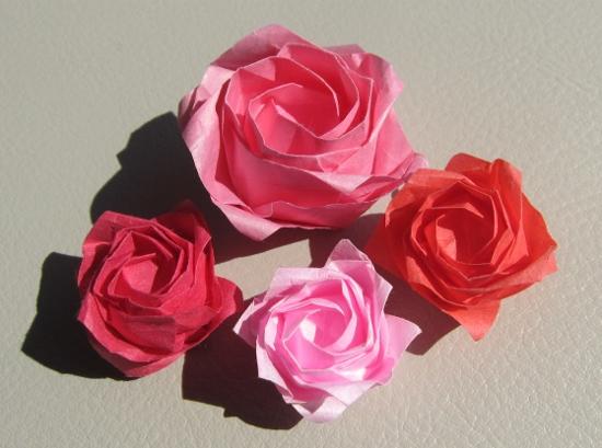 薔薇 和紙