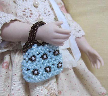 咲のビーズバッグ