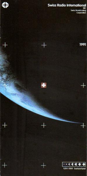1291-1991 Switzerland Switzerland's birthday and SRI