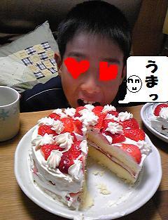 クリスマスケーキ2009_2