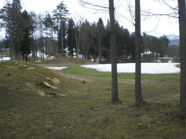 県民ゴルフ場オープン前
