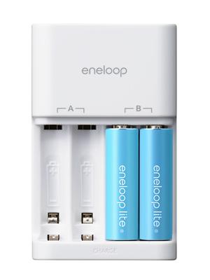 eneloop lite(エネループライト)充電器セット
