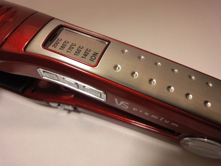 ヴィダルサスーン マイナスイオンストレートアイロンMagic Shine VSS-9000-R