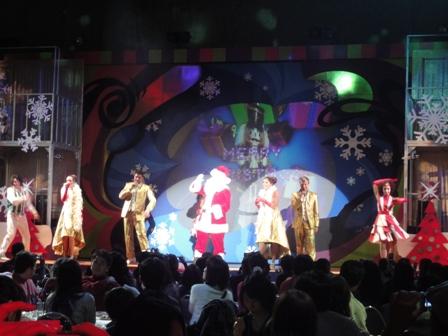 USJ ドコモクリスマスパーティ