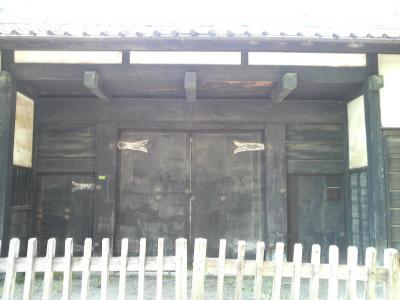 岩槻城の黒門
