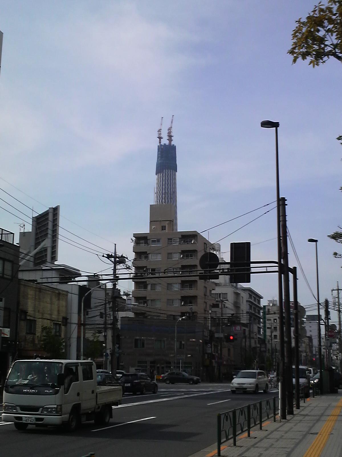 錦糸町付近から