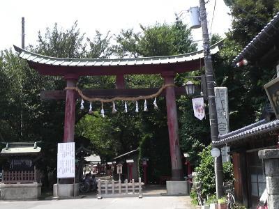 鷲宮神社鳥居