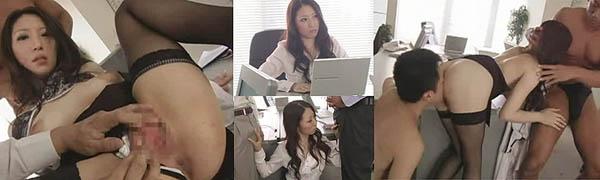 OL上司3P動画