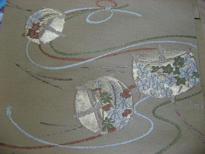 帝塚山 講習  糸巻き帯