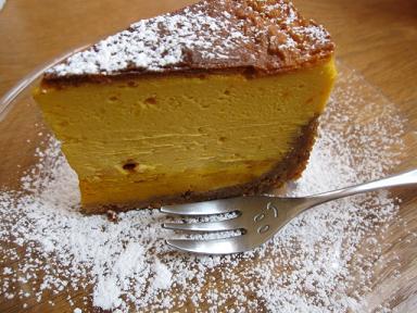 かぼちゃのニューヨークチーズケーキ♪