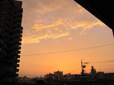 雲が光ってて綺麗~(≧▽≦)♪