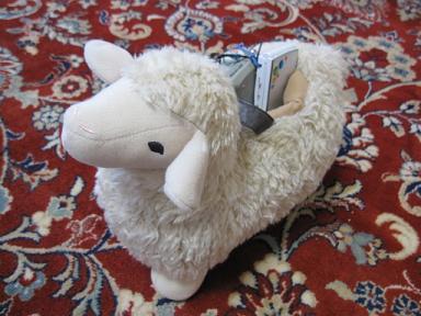 羊のプチ執事(笑)