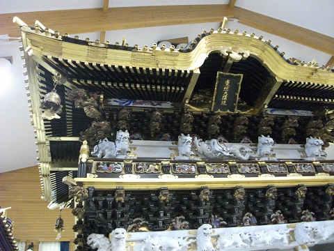 日光東照宮の模型