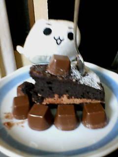 チョコレートのターン!