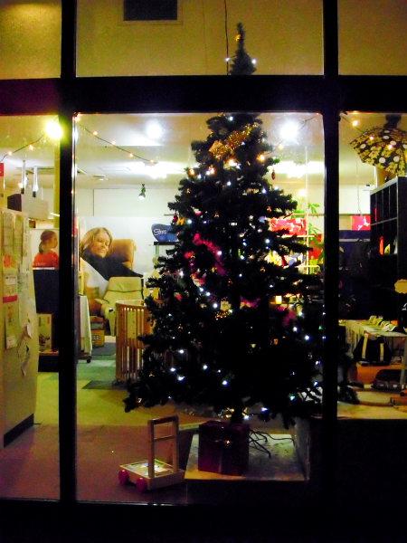 レインディアのクリスマスツリー