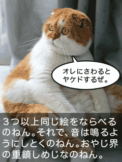 おしゃべり猫2