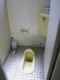 女子トイレ和式施工前②