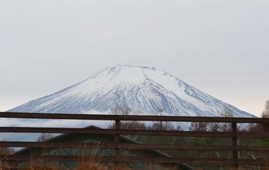 ワフから見た富士山