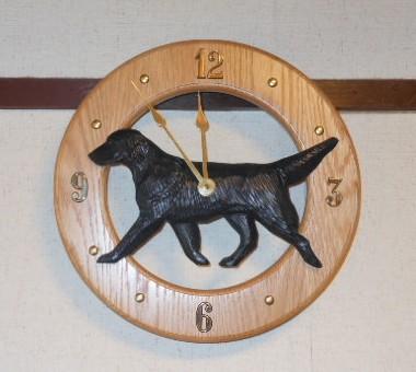フラット壁掛け時計