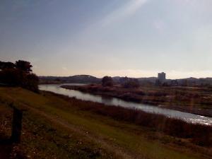 多摩川土堤