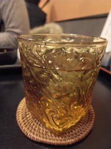 緑茶梅酒1