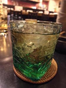 緑茶梅酒2