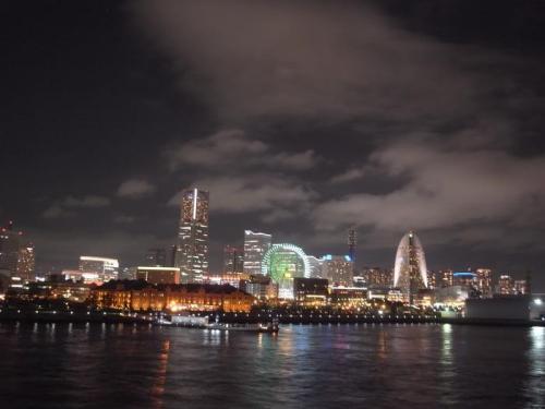 大桟橋夜景