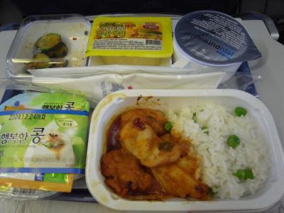 帰り機内食