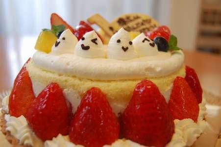 仲良しケーキ