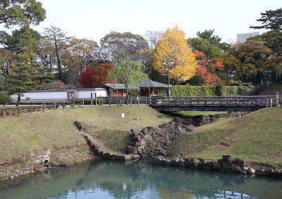 駿府公園の紅葉-6