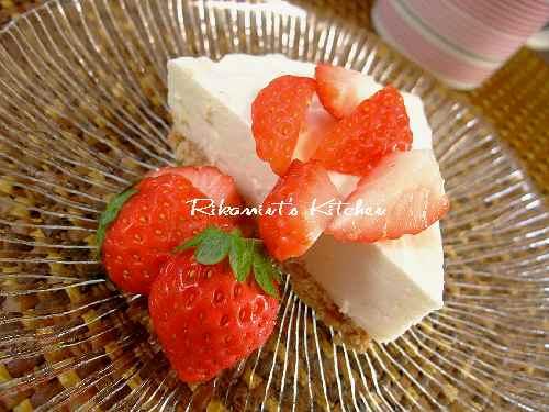 DSCF12・27レアチーズケーキ