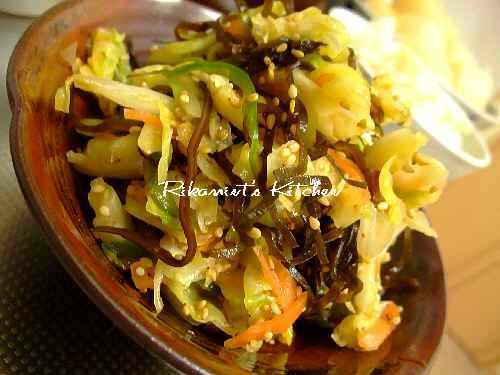 DSCF5・26野菜の塩昆布漬け