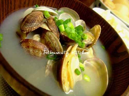 DSCF5・26アサリの味噌汁