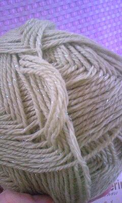 ラメ入り毛糸