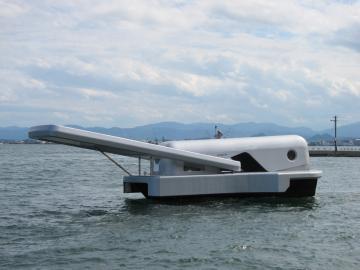 ファスナーの船