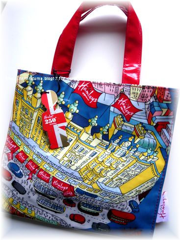 Hamleys 250th Small London Print Bag