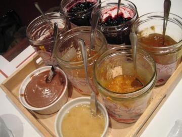 ジャム6種 ハチミツ・コティディアンクリーム